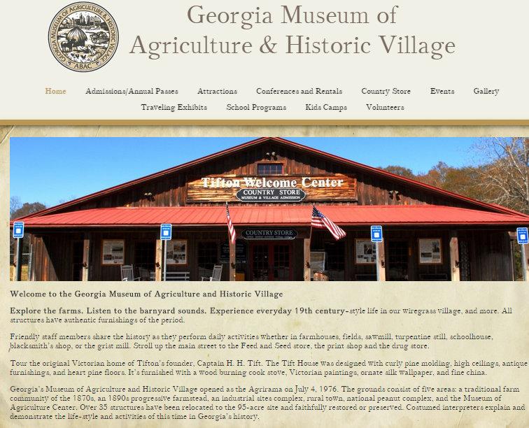 Georgia Museum of Agriculture (aka Agrirama) « Seminole Crop E News